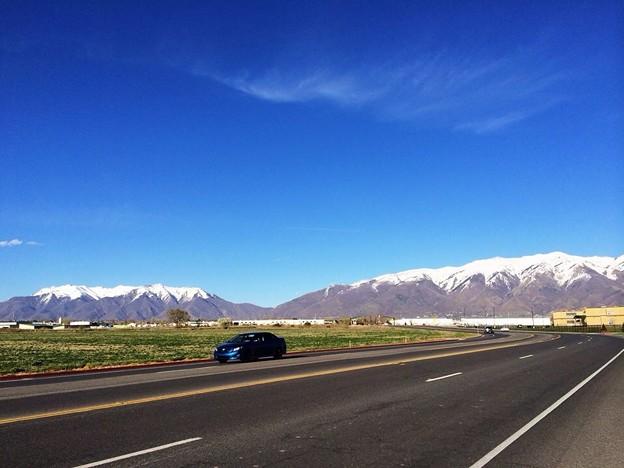 Wasatch山脈の春