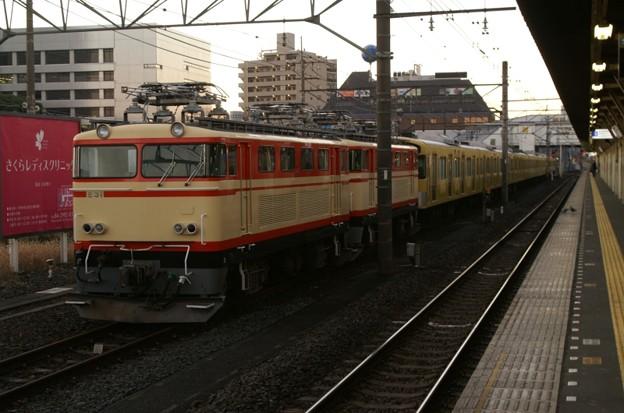 所沢で一晩待機するE31形