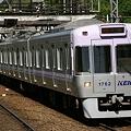 紫陽花色の電車