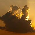 写真: 西の空のメルヘンその 2