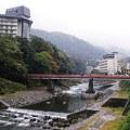 写真: 箱根湯元付近