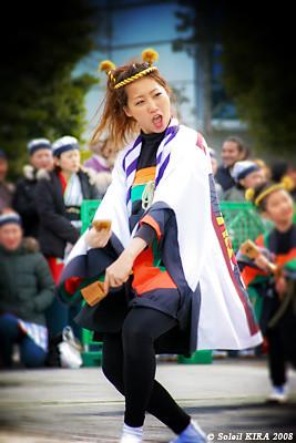 子鳩子兎 横浜百姫隊 - 東京大マラソン祭り2008_tc