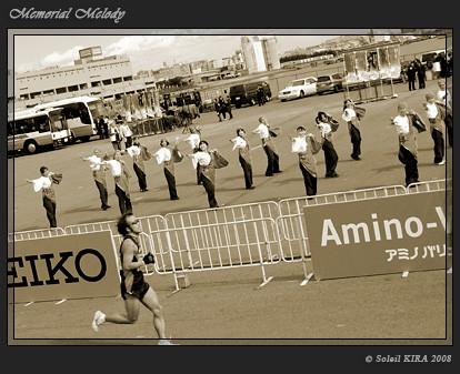 サマージッパー (Summer Zipper)_東京大マラソン祭り2008_sepia02