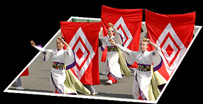 写真: ぞっこん町田'98_東京大マラソン祭り2008_bf2
