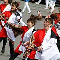 "Photos: 早稲田大学 ""踊り侍""_東京大マラソン祭り2008_24"