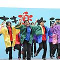 写真: 千葉学芸高校吹奏楽部_川崎大師厄除よさこい_09
