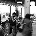 ベルン駅ホーム17時10分