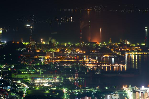 造船所の夜