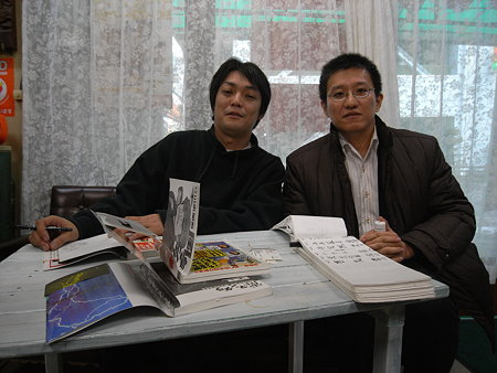 雷門獅篭さん 大須演芸場にて03