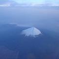Photos: 空から見た富士山
