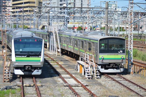 Photos: 横浜線新旧