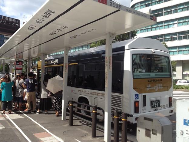 なごや観光ルートバス「メーグル」_05:『名古屋駅』停留所