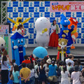 オアシス21:いやしす誕生祭 2014 No - 12(ステージに沢山のゆるキャラ!)