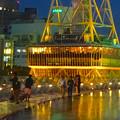 写真: オアシス21から見上げた、イルミネーションが新しくなった名古屋テレビ塔 - 09