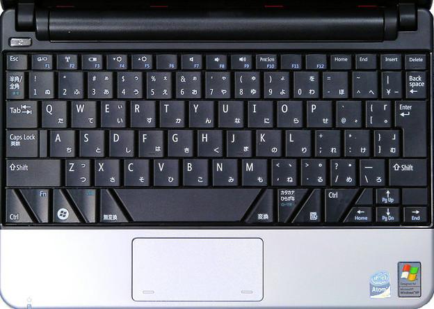 写真: DELL Inspiron Mini 10キーボード案