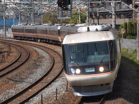 383系 特急しなの 東海道本線サントリーカーブ