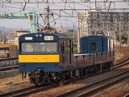 クモル145系回送 東海道本線岸部駅1