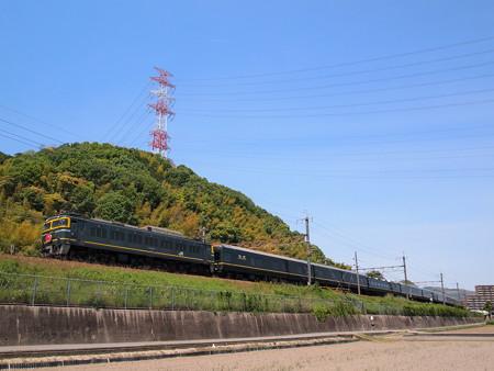 EF81 トワイライトエクスプレス 東海道本線島本~高槻
