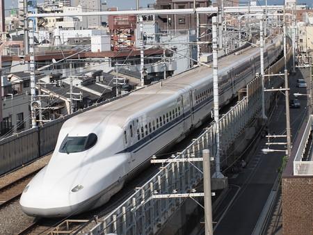 N700A のぞみ 東海道本線京都~新大阪03