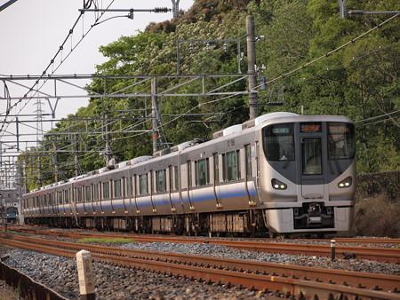 225系関空・紀州路快速 阪和線杉本町~浅香