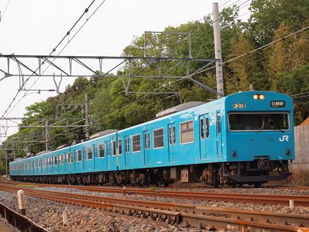103系普通 阪和線杉本町~浅香01