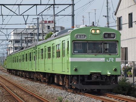 103系普通 奈良線東福寺~稲荷02