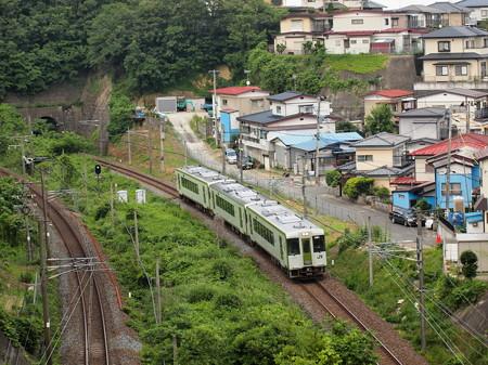 キハ100系快速 東北本線松島~塩釜