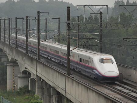 E2系はやて 東北新幹線郡山~福島