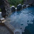 Photos: コバルトブルーのお湯