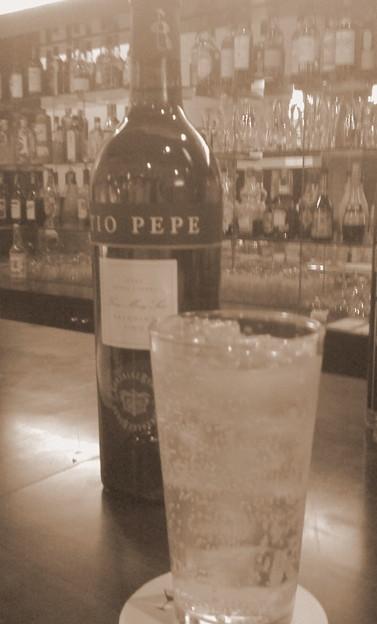 写真: Tio PEPE Ginger ale