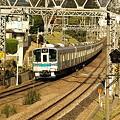 写真: 小田急線(相模大野付近)