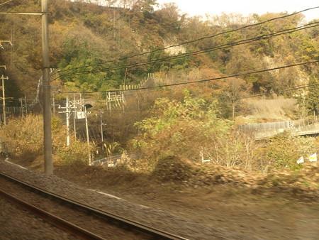 岩本駅過ぎたところからの車窓