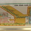 写真: 115系吾妻線路線図