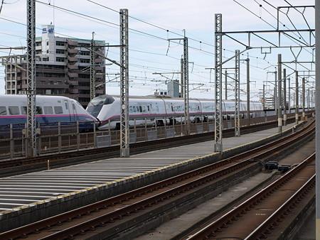 E3系+E2系(武蔵浦和駅)