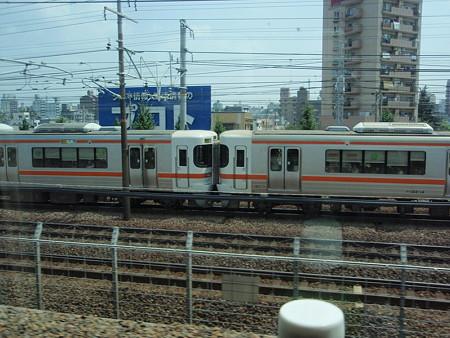 新幹線の車窓(313系)