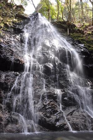 神末不動の滝上段