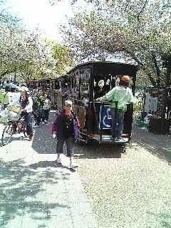 20090412 大阪城公園内のSL