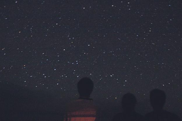 島の夜空。。。