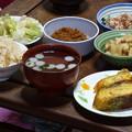 写真: 夕食 2014.4.23