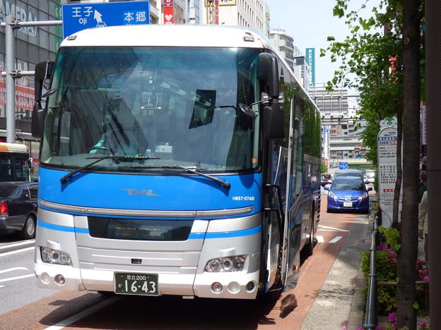 Photos: 池袋にも「国鉄バス」現る