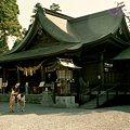 写真: 09阿蘇神社拝殿