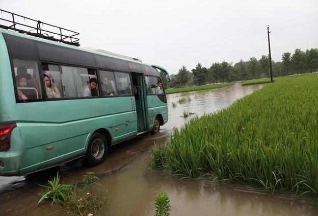 大雨の後の洪水状態の長沙 6月20日 (12)