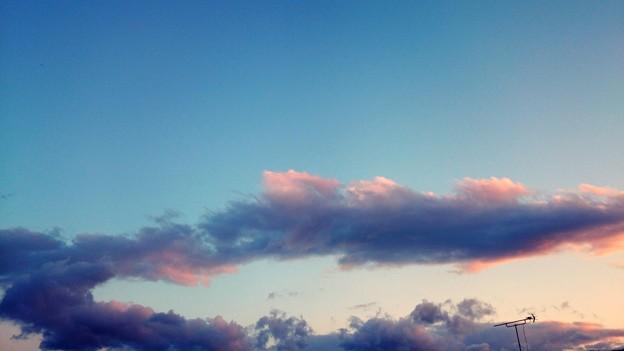 不思議な雲