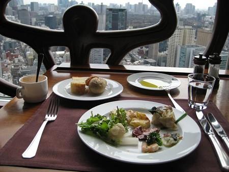 東京ドームホテルでランチ♪