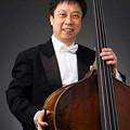 写真: 吉田秀 よしだしゅう コントラバス奏者  Shu Yoshida