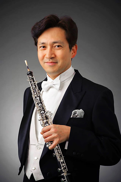 写真: 和久井仁 わくいひとし オーボエ奏者  Hitoshi Wakui
