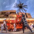 吉原祇園祭 纏(まとい) HDR