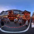 吉原祇園祭 山車 360度パノラマ写真(1) HDR