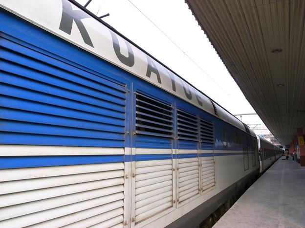 機関車 横