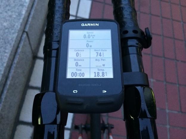 140415 自転車通勤復路スタート